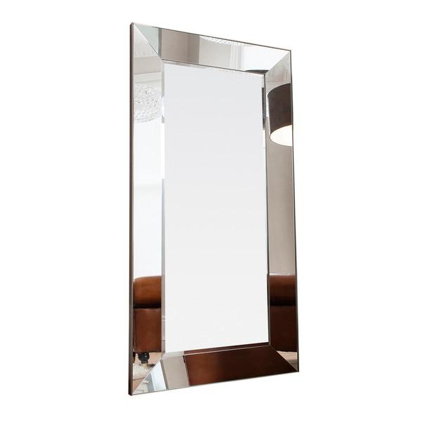 Vasto Leaner Mirrored Frame Mirror