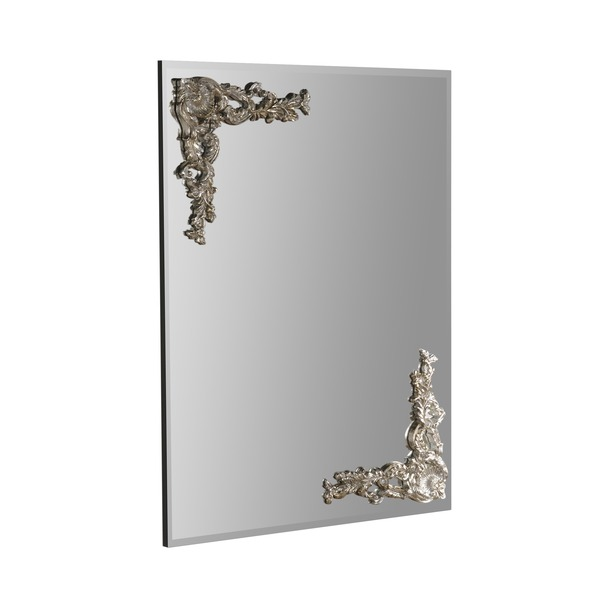 Lombardy Silver Wall Mirror