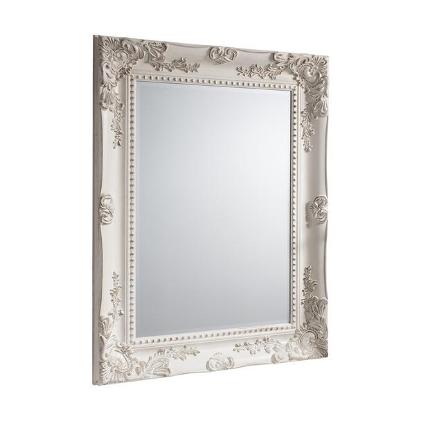 Winslet Vintage White Finish Mirror