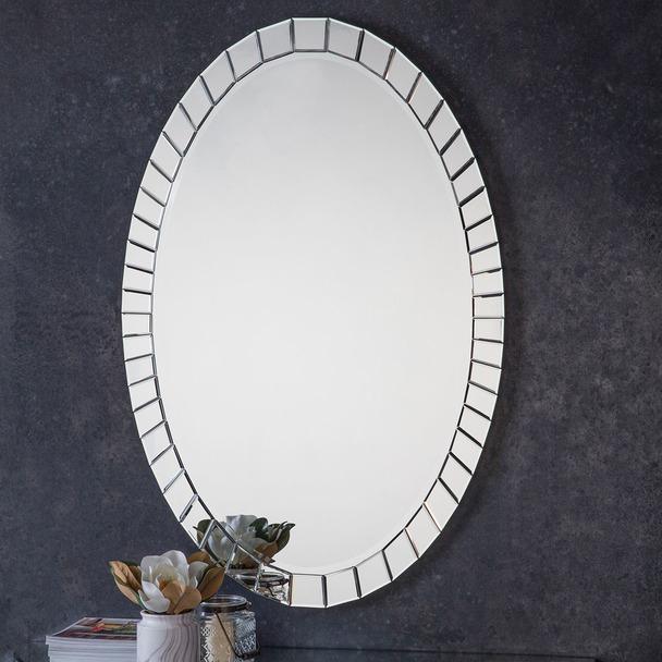 Travis Oval Mirror
