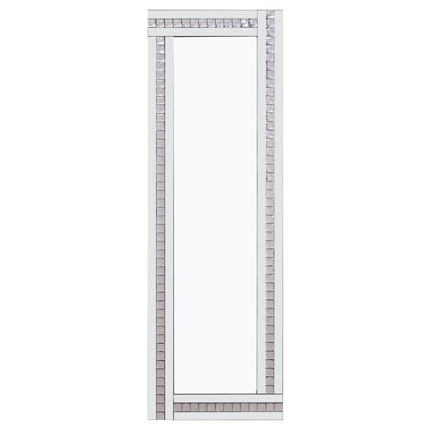 Alma White Glass Mirror - 3 Sizes