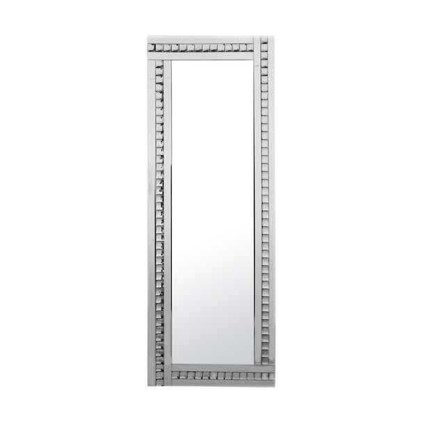 Alma Crystal Glass Leaner Mirror