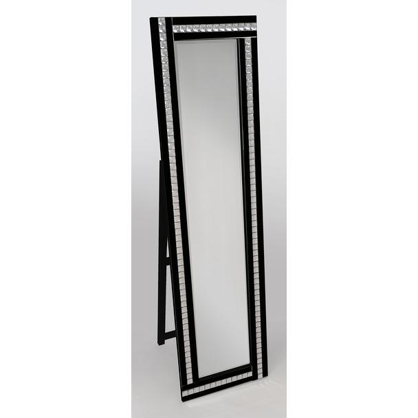 Alma Black Cheval Mirror
