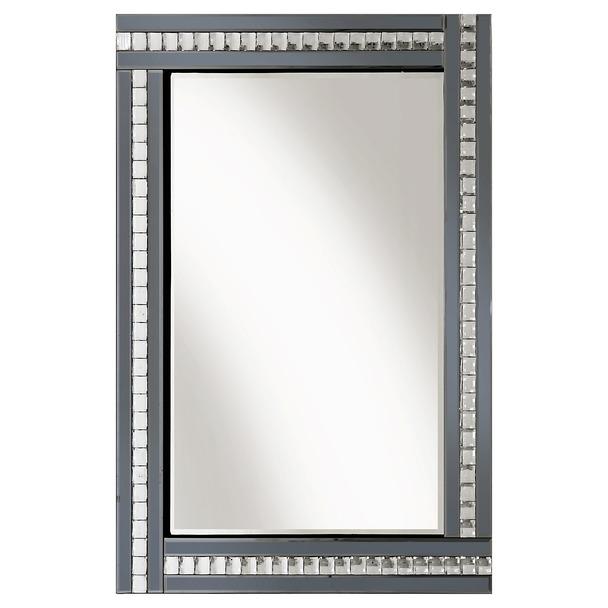 Alma Smoked Glass Mirror - 3 Sizes