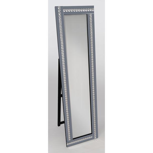 Alma Smoked Cheval Mirror