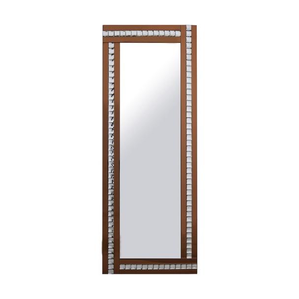 Alma Bronze Crystal Leaner Mirror