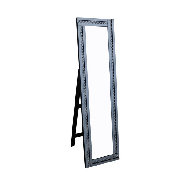 Glitz Smoked Cheval Mirror