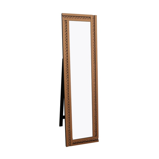 Glitz Bronze Cheval Mirror