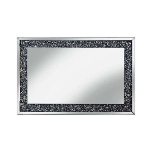 Gatsby Glass Crystals Mirror