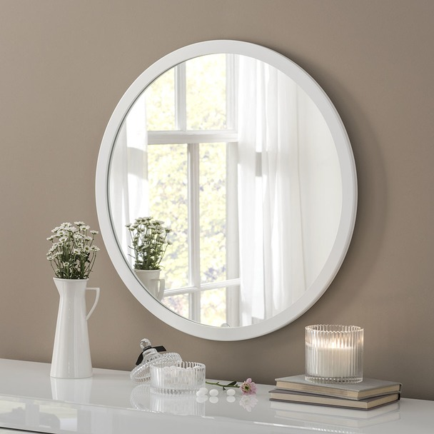 Madison Round Mirror 70cm Diameter
