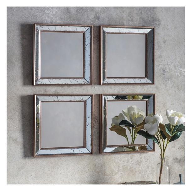 Bambra Mirror Square (4pk)