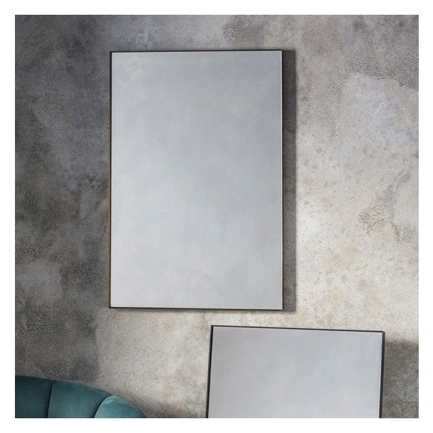 Hurston Rectangle Mirror - Bronze
