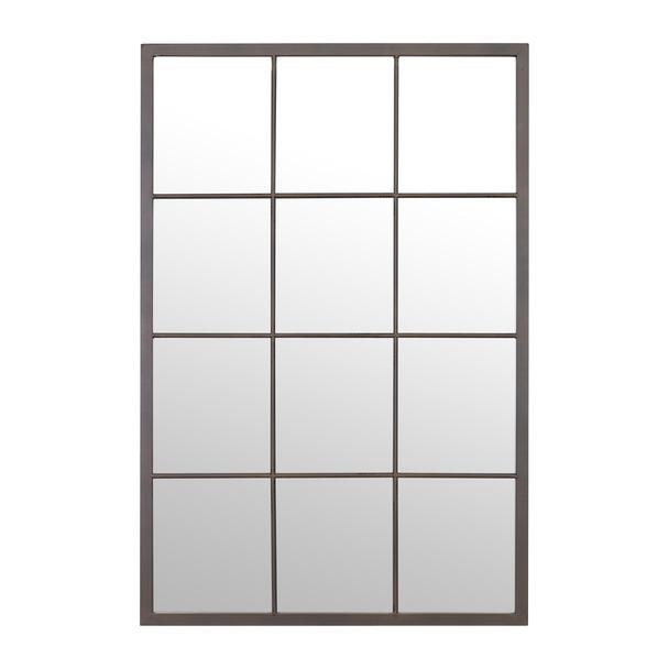 Camden Metal Window Mirror 60x90cm