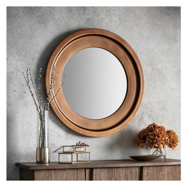 Moorley Round Wall Mirror
