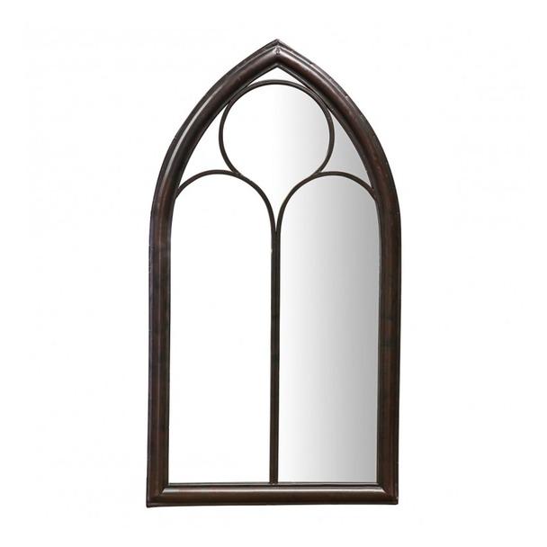 Monica Metal Garden Window Mirror