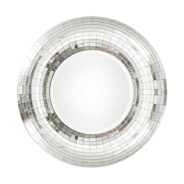 Annabelle Round Mosiac Wall Mirror