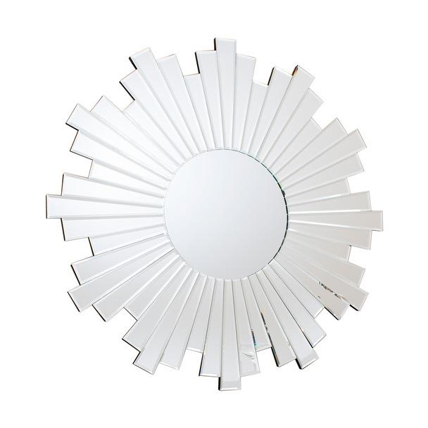 Zamora Starburst Mirror with Bevelled Mirror