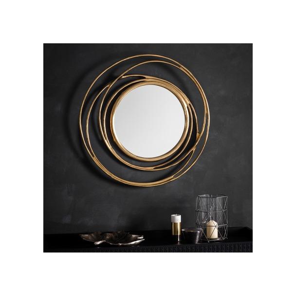 Allende Round Mirror